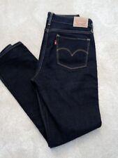 Levis jeans womens 712 slim 30w 30l indigo excellent condition