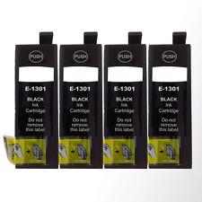 4 Black Ink Cartridges for Epson Stylus SX620FW SX525WD SX535WD