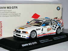 Minichamps Dealer Edition BMW M3 GTR 1995 Interlagos 1000 Mile #4 1/43