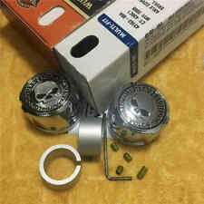 HARLEY WILLIE G SKULL FRONT AXLE NUT COVER FIT SOFTAIL TOURING VROD VRSC XL DYNA