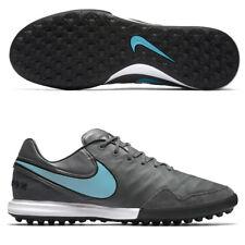 New Nike TiempoX Proximo TF Turf Soccer Football Cleats Boots Sz 11.5 Grey Blue