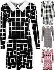 Viscose Collar Machine Washable Dresses for Women