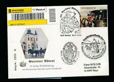 19. Christkindl Reco Kutschenpost Garsten-Christkindl  Beleg Nr. 0950  (CH25)