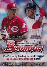 2018 Bowman Baseball sealed unopened blaster box 8 packs of 10 MLB cards