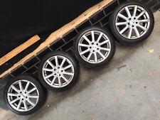 Platin Alufelgen 7x17 Zoll ET40 Lochkreis 5x112  für Audi VW Skoda Seat