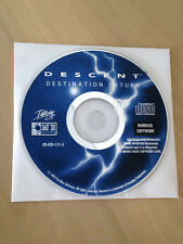 Descent: Destination Saturn software, of Interplay Productions, perfect conditio