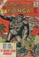 Return Of Konga, Very Good, Giant Monster, King-Kong-like, Charlton Comics 1962