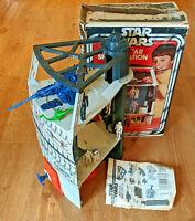 Star Wars Vintage *Death Star Playset near COMPLETE* Box & Figures Dianoga 1978
