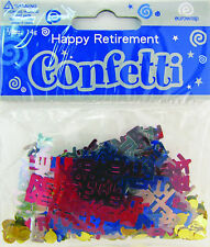 Party Celebration Confetti Decoration - Happy Retirement