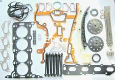 COMBO CORSA ASTRA 1.2 1.4 HEAD GASKET SET BOLTS TIMING CHAIN KIT Z12XEP Z14XEP