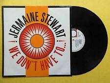Jermaine Stewart - We Don't Have To... / Brilliance, 10 Records TEN-96-12 Ex+
