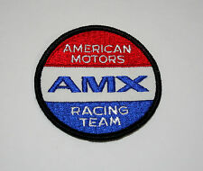Vtg Trans Am American Motors AMC AMX Racing Team Car Patch New NOS 1970s