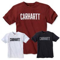 Carhartt Herren T-Shirt Block Logo Men Shirt Oberteil S bis XXL NEU