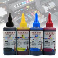 400ml Universal Refill Premium Ink dye Bottle kit for CISS Refillable Cartridges