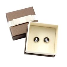 Jack Russell Terrier. Earrings with box. Photojewelry. Handmade. Ca