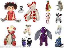 BESPOKE 7 X Pattern Bundle, Your Choice of Any 7 Soft Toy Fabric Sewing PATTERNS