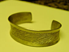 Jorgen Jensen Pewter 986 Etched Open Bangle