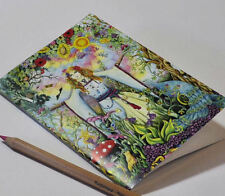 LADY MEDIEVALE a5 NOTEBOOK BIANCO ART schoolpagan Regalo Disegno Celtico Sketchbook