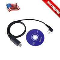 Two-way USB Programming Cable&Software for BaoFeng UV-5R/5RA/5RE BF-888S Radios