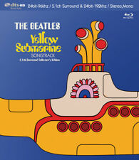 Beatles Blu-Ray, Hi Res 5.1 Surround Sound Yellow Submarine Songtrack Audiophile