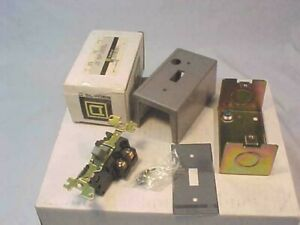 New Square D Class 2510 Type FG2 FHP Manual Starter Type 1 Enclosure  FG-2