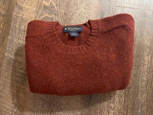 Brooks Brothers Scotland Shetland Lambswool Sweater Medium Perfect