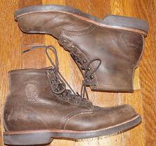 Chippewa Sorrel 20065 Chocolate Apache Leather USA Soft Work Boot 10.5 D
