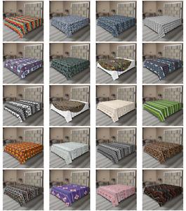 Ambesonne Aztec Flat Sheet Top Sheet Decorative Bedding 6 Sizes