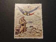 WWI Brazil - France war charity stamp, mint-hinged