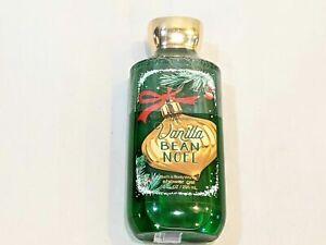 Bath and Body Works Vanilla Bean Noel Shower Gel 10 oz NEW