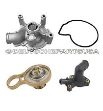 MINI COOPER S THERMOSTAT + HOUSING COVER + GASKET SEAL + CLG WATER PUMP SET OF 4