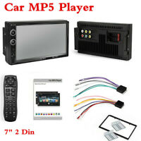 Double 2Din Android Car FM Radio Stereo MP5 Player 7in Touch Screen Bluetooth