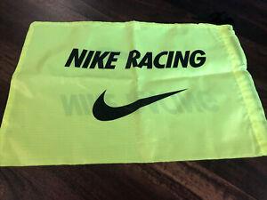 Nike Racing Track And Field Shoe Bag Neon Black