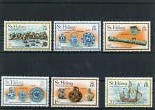 St. Helena Complete Set Sc. 318-323 Mint NEVER Hinged