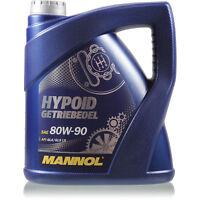 Original MANNOL 1x4 Liter Hypoid Öl Getriebeöl 80W-90 API GL 4/GL 5 LS MN8106-4