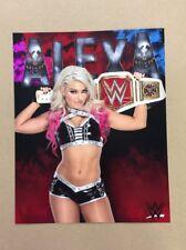 Alexa Bliss WWE 8x10 Photo Women's Champion NXT Takeover Wrestlemania Axxess