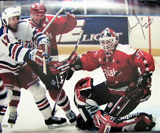 "Olaf Kolzig signed 16 x 20 Washington Capitals ""Olie The Goalie"" Inscription"