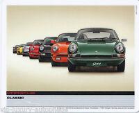 Porsche 911 50 Jahre Classic Edition Mousepad 19,5 x 24,cm Maus Pad Mousepad