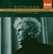 Beethoven - Symphonies No.2 & 5 Simon Rattle VPO Emi Classics CD New