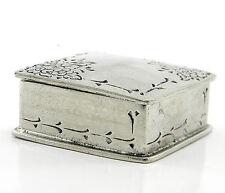bomboniera scatolina portaconfetti nascita,matrimonio,porta confetti in peltro