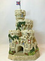 David Winter Castle Tower of Windsor Ltd Ed Signed By David Winter COA Box Mint