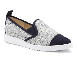Karl Lagerfield Paris Shoes, Size 8, Cream/blue Colour, Worn Once