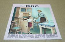 ETABLISEMENTS DOC vaisselle mobilier vetements landau et divers catalogue v1950