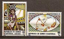 Équatorial Guinée Equatorial Edifil #63-64 ** MNH Noël 1984