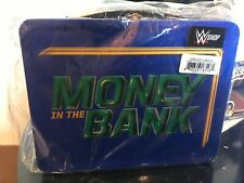 WWE Money in the Bank Briefcase Tin Lunch Box Brand New