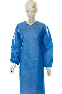 Reusable Medical Gown-Surgical Isolation Gowns with Cuffs 10PCS/$ 43.00