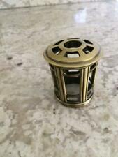 Lampe Berger Heavy Antique Gold Crown Fragrance Lamp Diffuser Top Scentier New