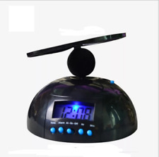 Creative Flying Alarm Clock Led Digital Helicopter Propeller Loud Noise Clock