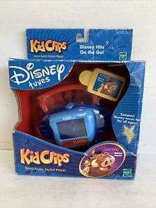 Disney Tunes Kid Clips Retro Radio Player The Lion king VINTAGE Hakuna Matata