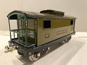 LIONEL LINES CLASSICS TRAINS -NO. 217 CABOOSE- STANDARD GAUGE, NEW DISPLAY PIECE